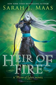 Cover of Heir of Fire by Sarah J. Maas