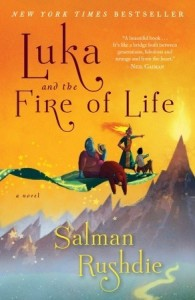 Cover of Luka and the Fire of Life by Salman Rushdie