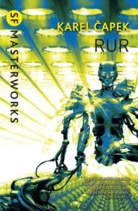 Cover of R.U.R. by Karel Capek
