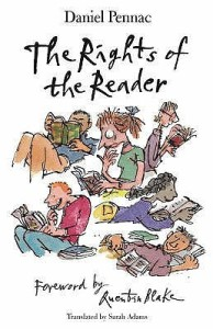 Cover of The Rights of the Reader by Daniel Pennac
