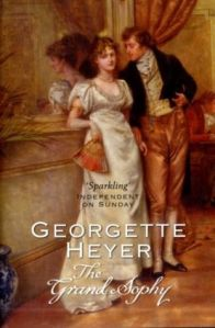 Cover of The Grand Sophy by Georgette Heyer