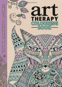 Cover of The Art Therapy Colouring Book