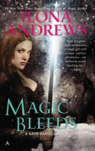 Cover of Magic Bleeds by Ilona Andrews