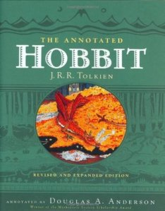 Cover of The Annotated Hobbit by J.R.R. Tolkien
