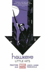 Cover of Hawkeye vol 2 by Fraction and Aja