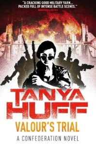 Cover of Valour's Trial by Tanya Huff