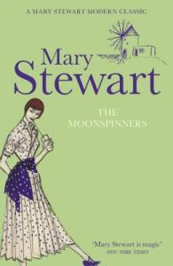 Cover of The Moonspinners by Mary Stewart