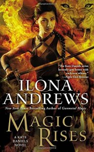Cover of Magic Rises by Ilona Andrews