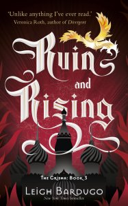 Cover of Ruin and Rising by Leigh Bardugo